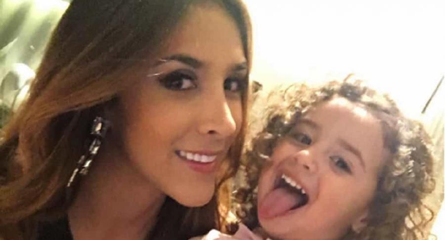 Daniela Ospina y su hija Salomé Rodríguez Ospina