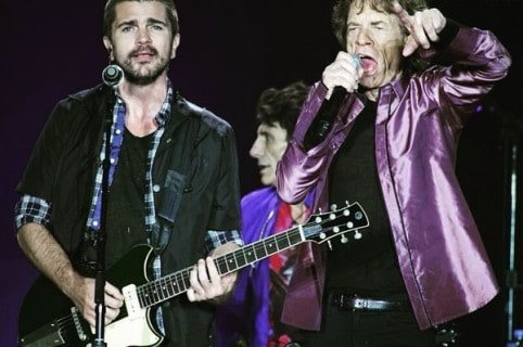 Juanes en concierto de lsos Rolling Stones