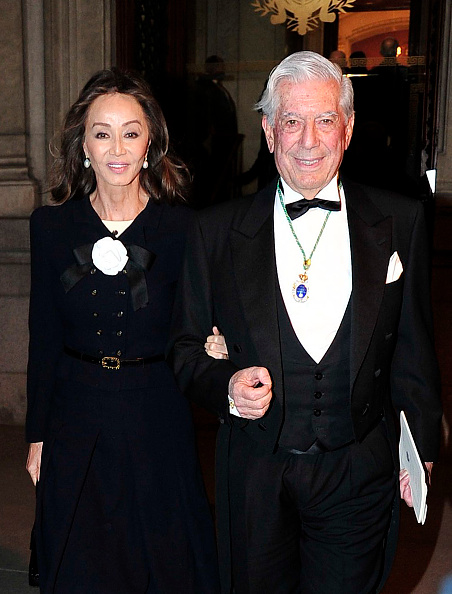 Mario Vargas Llosa e Isabel Preysler Getty
