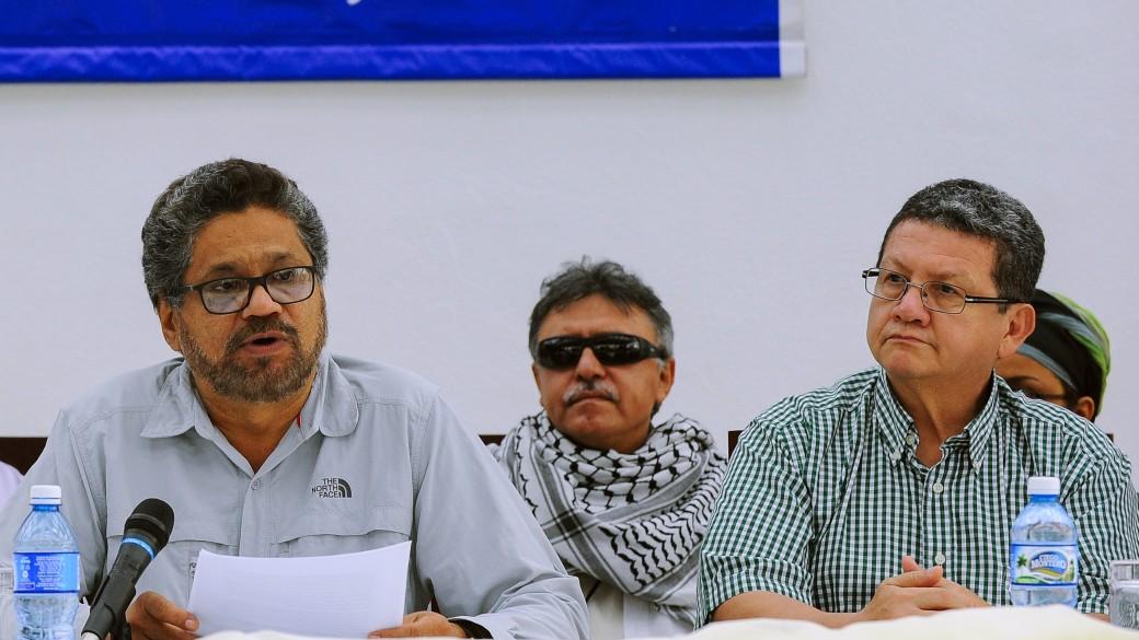 Jefes de las Farc en Cuba