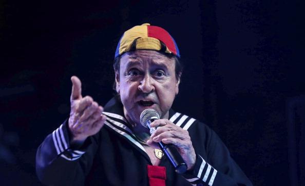 Carlos Villagran Performs in Kiko Show