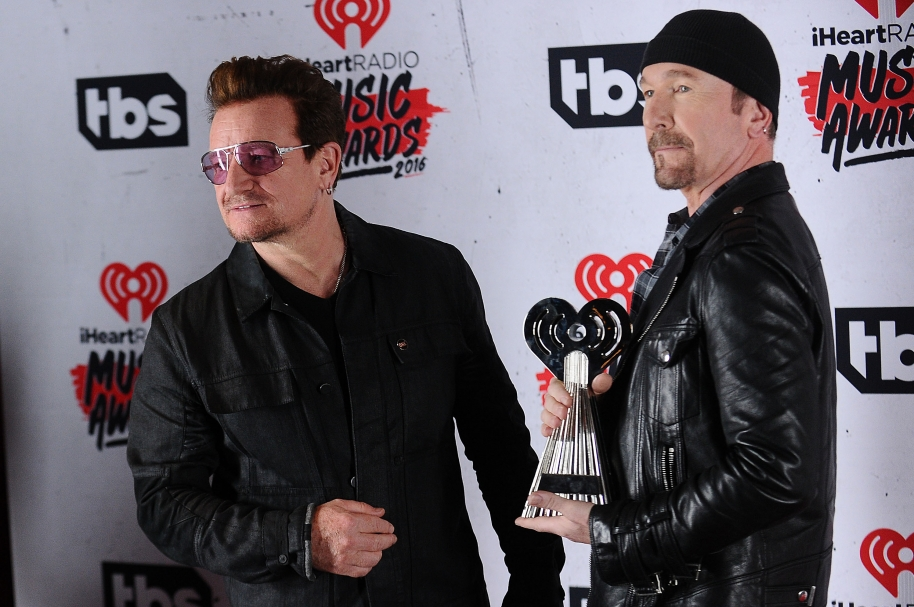 Bono y The Edge. Foto: Getty Images