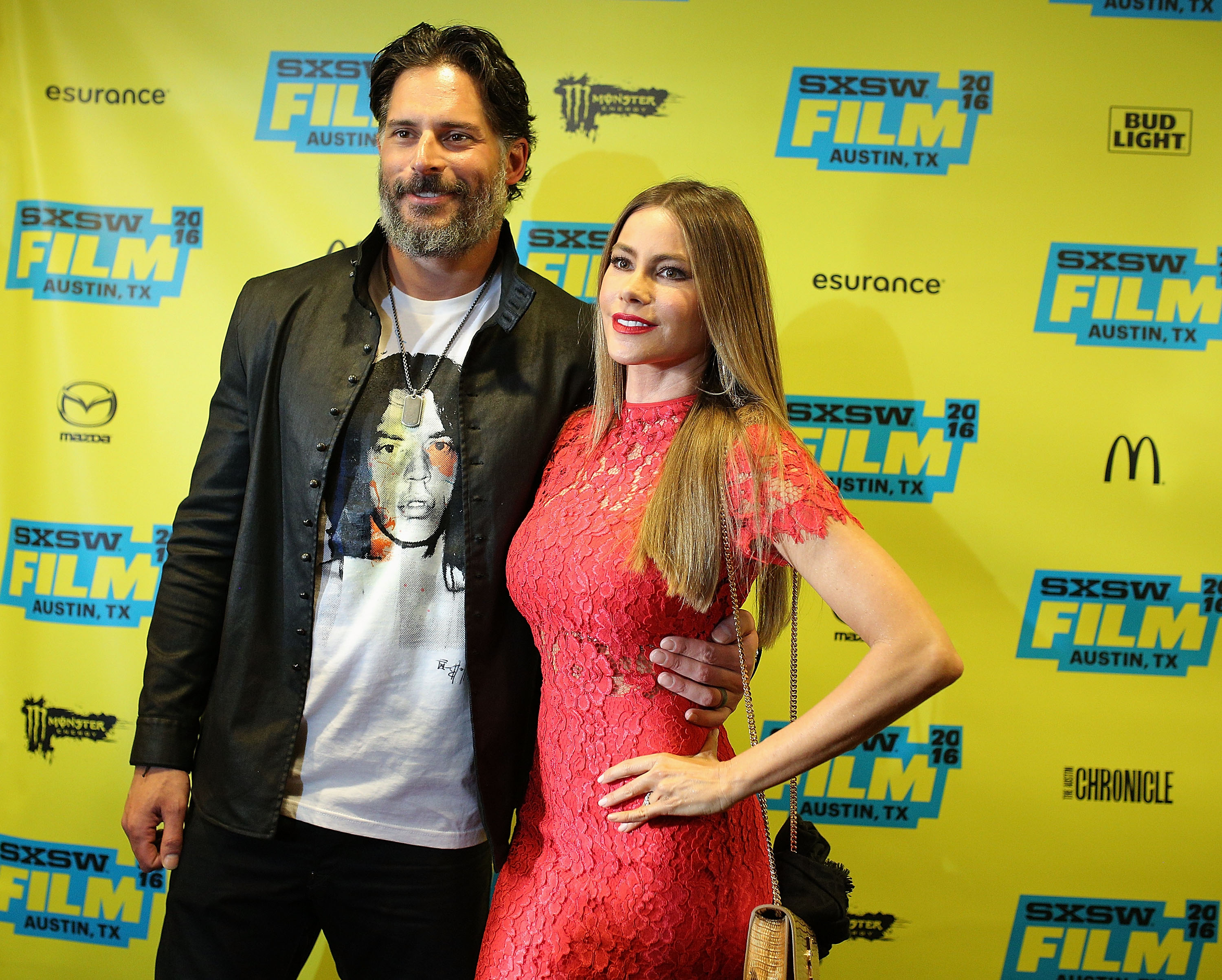 Sofía Vergara y Joe Manganiello.