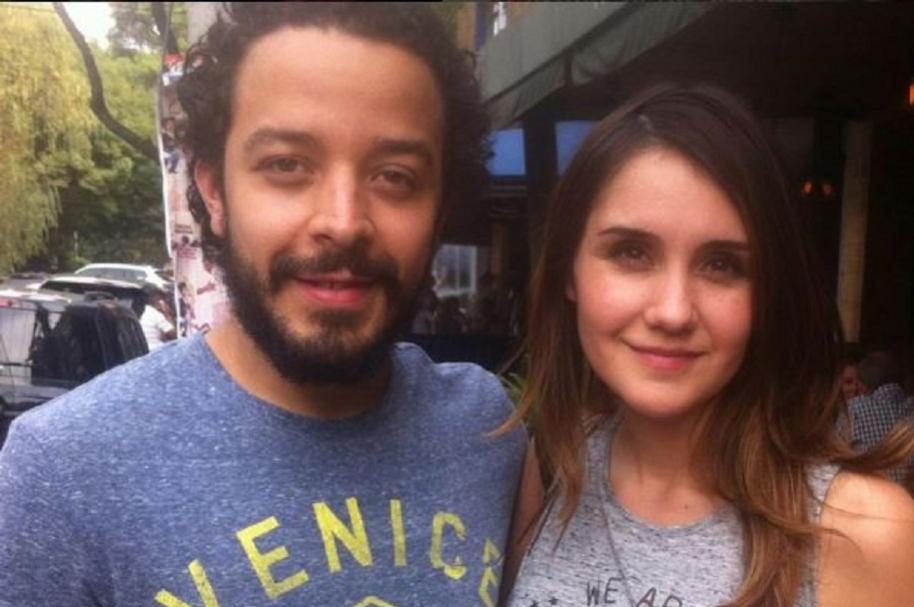 Rafael Londoño y Dulce María.