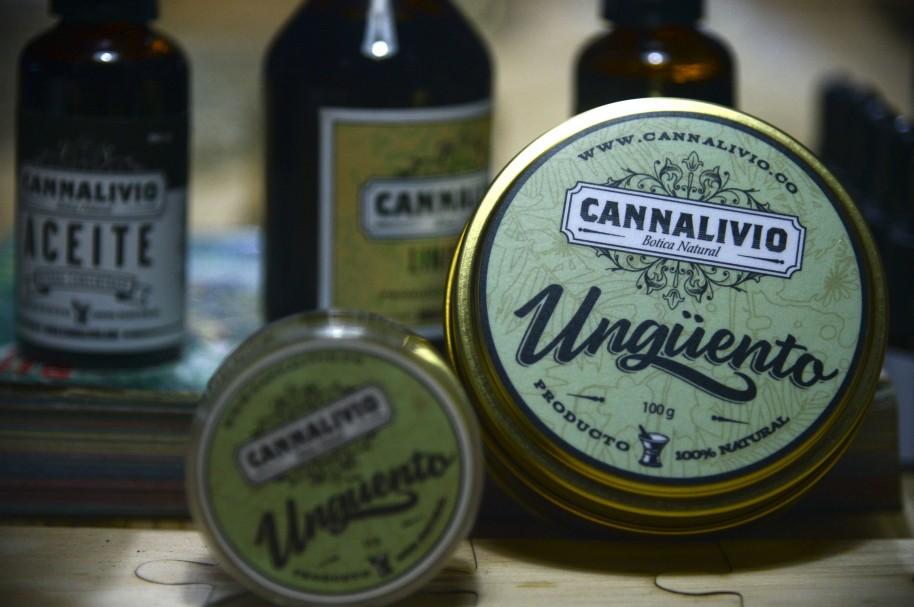Producto medicinal hecho con marihuana
