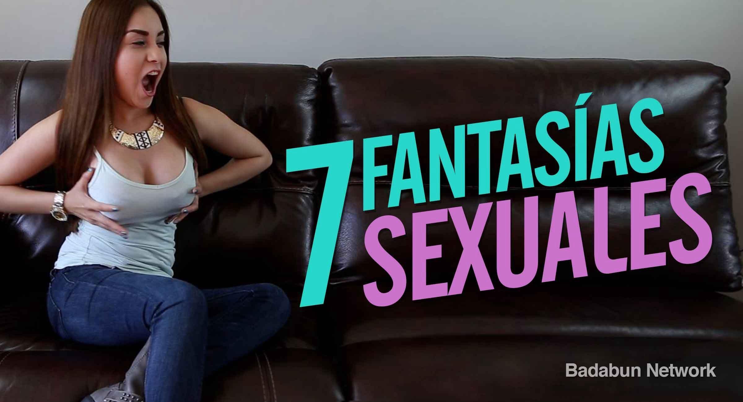 Fantasias sexuales hombres