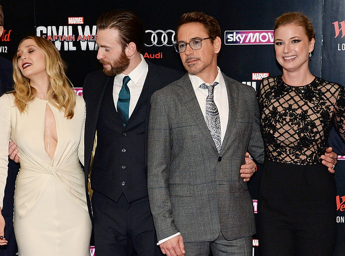 Estreno del 'Capitán América: Civil War' en Londres.
