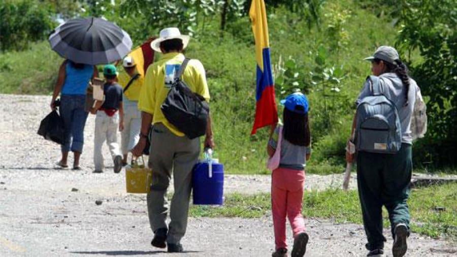Desplazados en Chocó