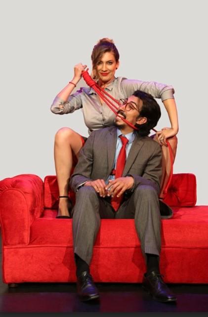 'El diván rojo'