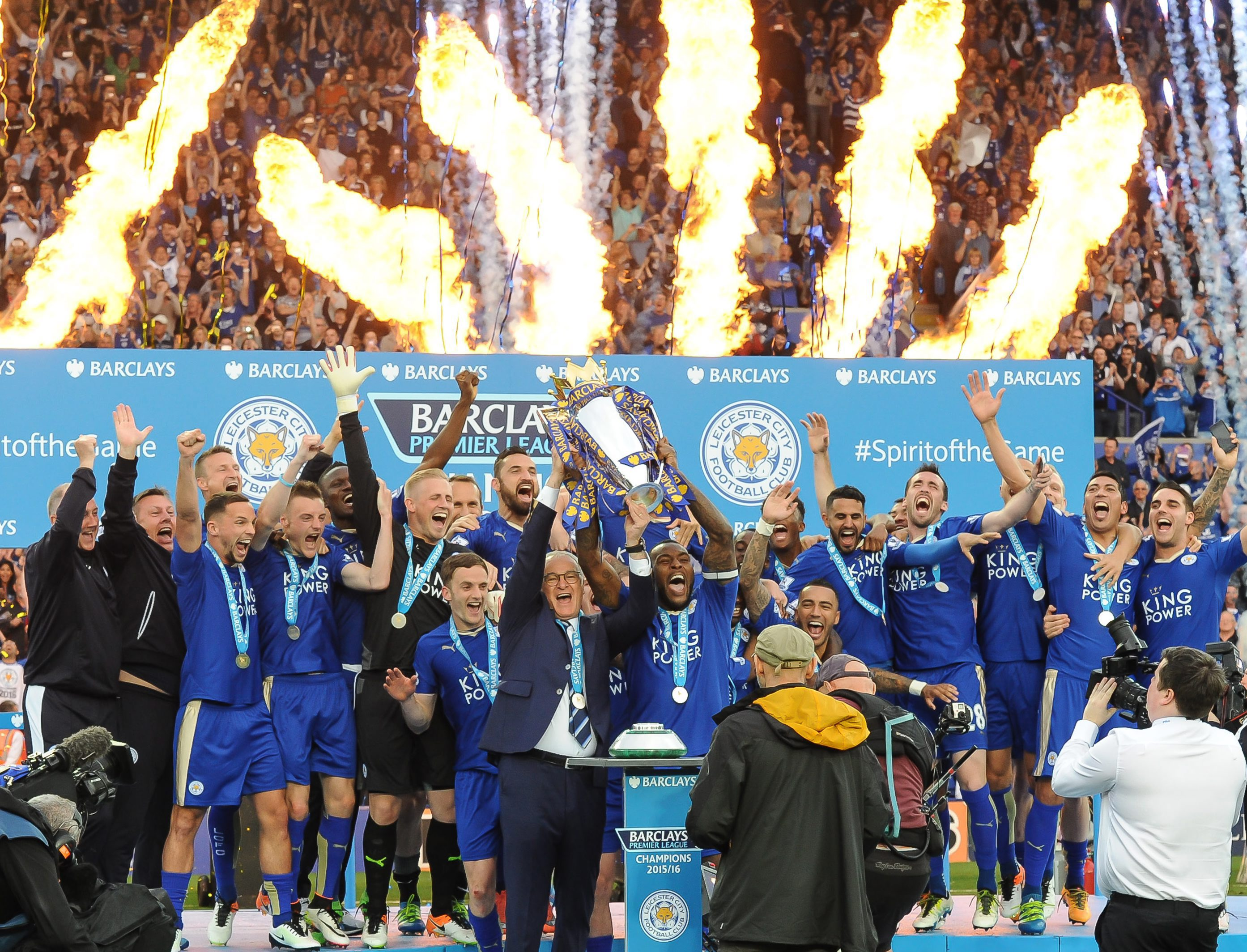 Leicester City v Everton