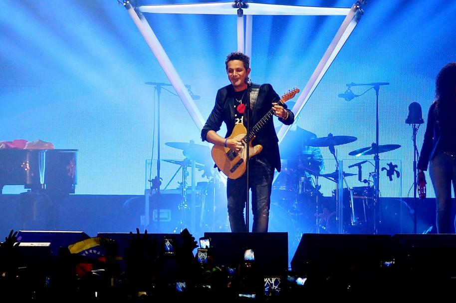 Alejandro Sanz en Bogotá