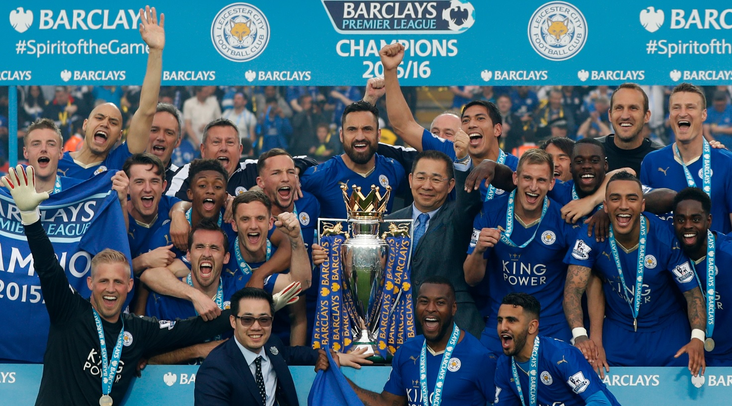 leicester campeon afp