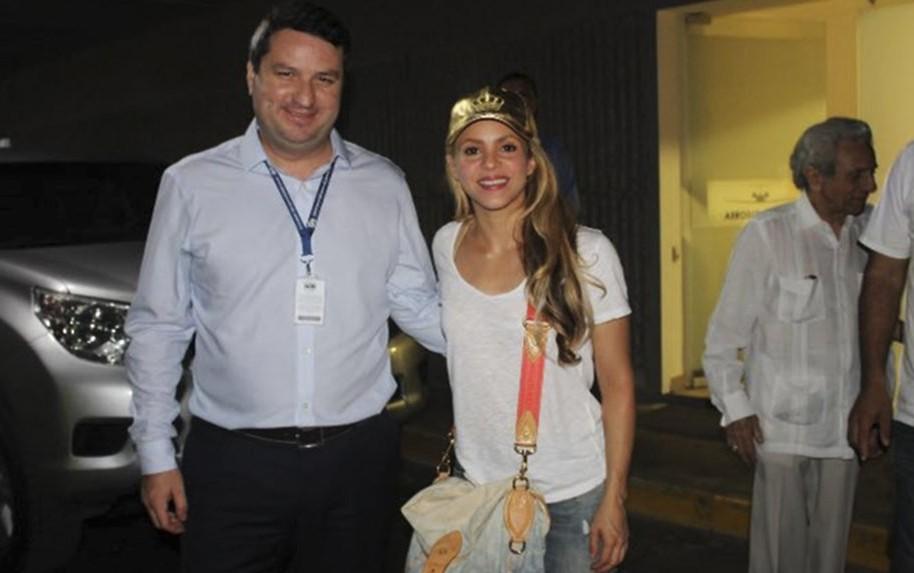 Álvaro González y Shakira