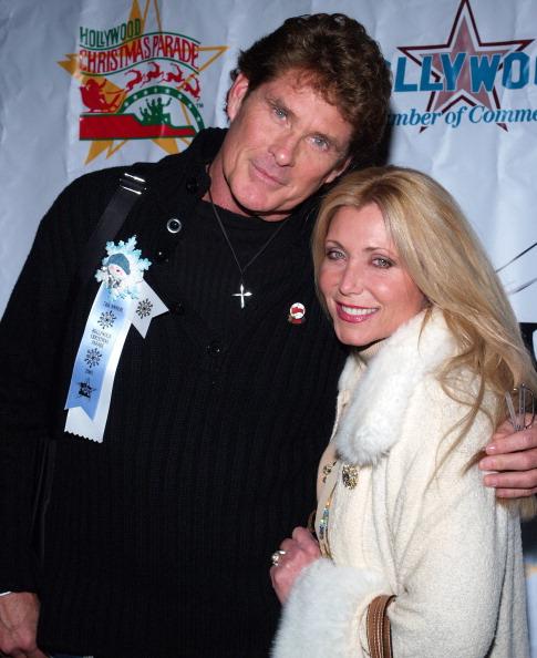 David Hasselhoff y Pamela Bach
