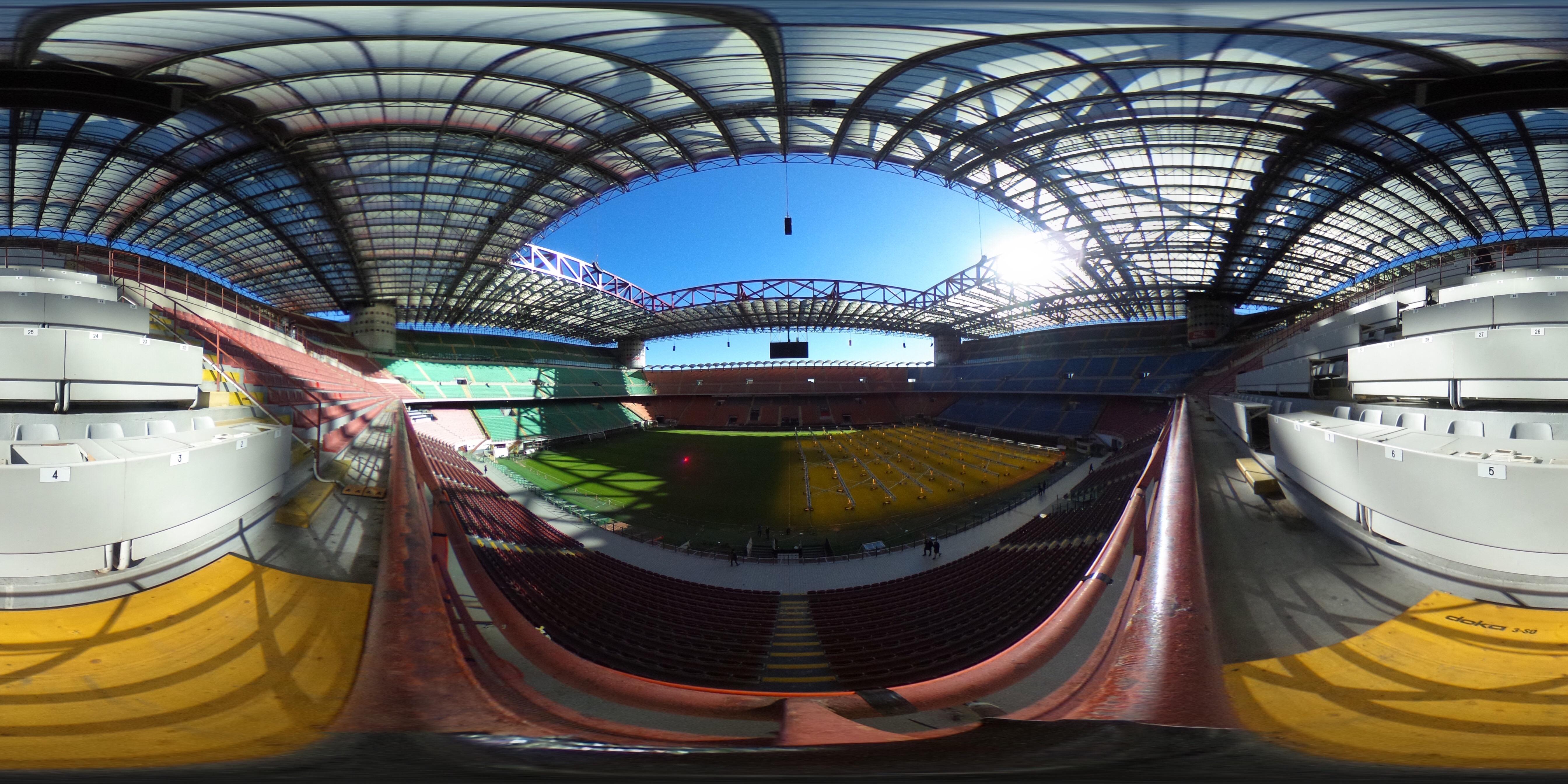 General Views of Stadio Giuseppe Meazza - UEFA Champions League Final Venue 2016