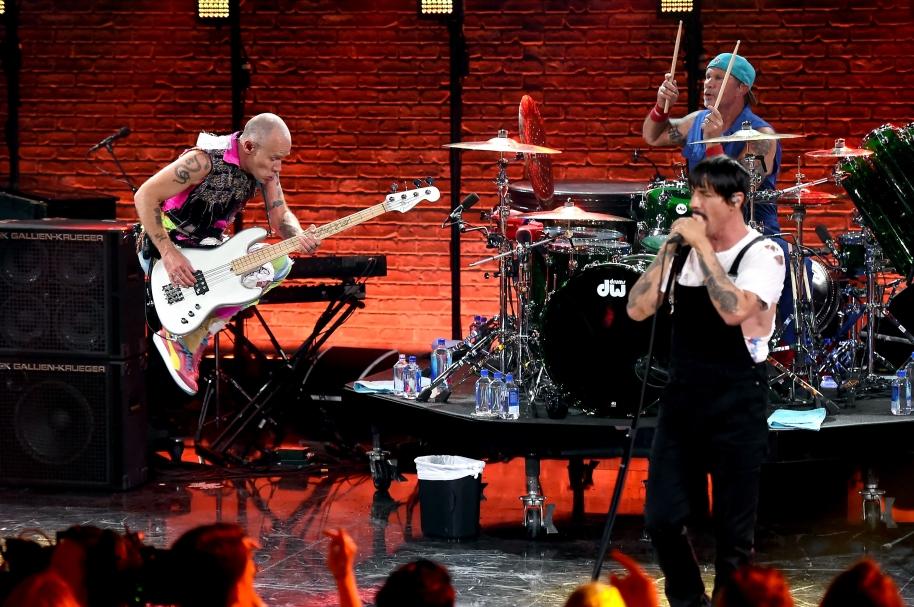 Flea, Anthony Kiedis y Chad Smith