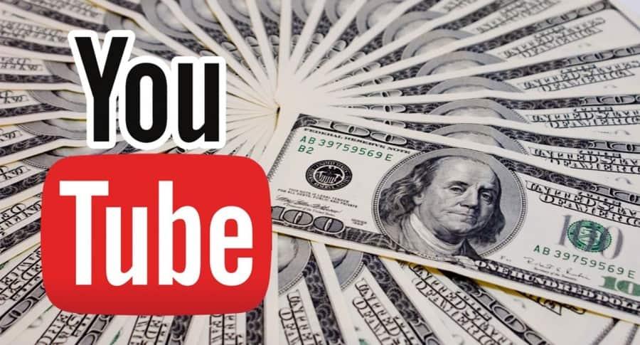 Dinero en YouTube