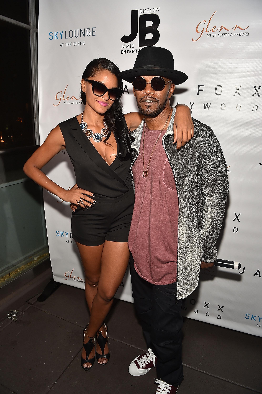 Jamie Foxx y Claudia Jordan