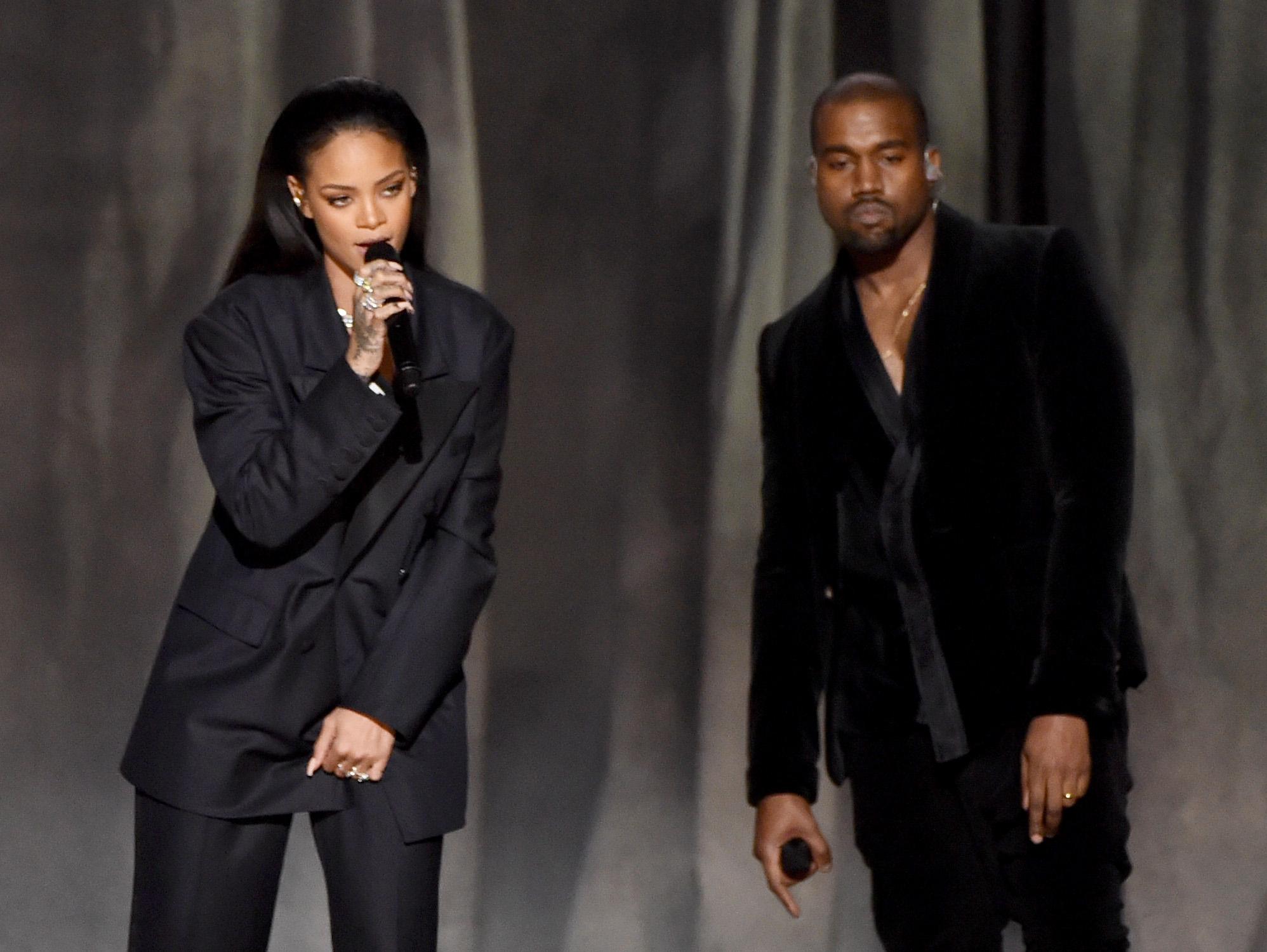 Kanye West y Rihanna