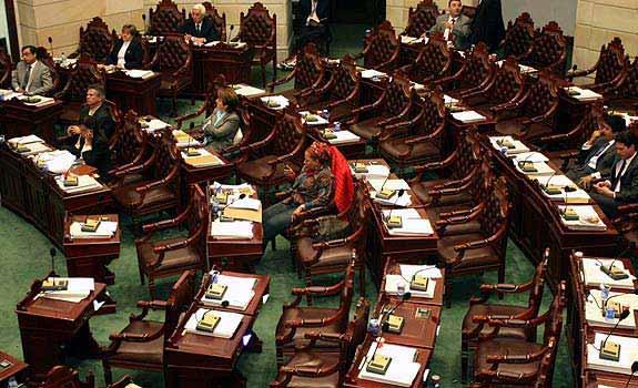 Ausentismo Congreso Colombia