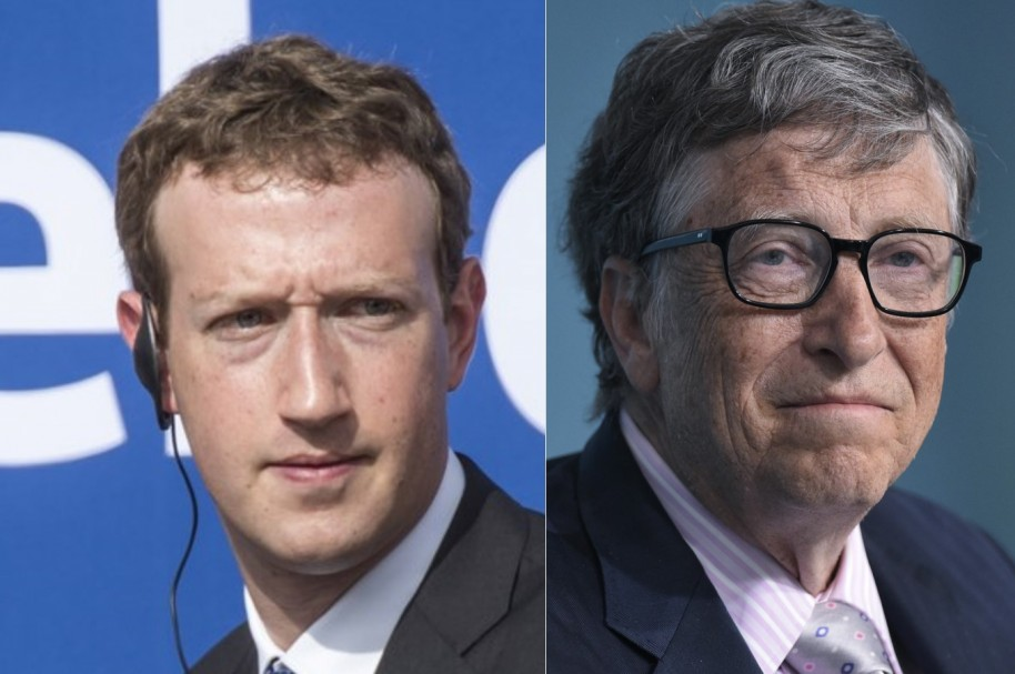 Zuckerberg y Gates
