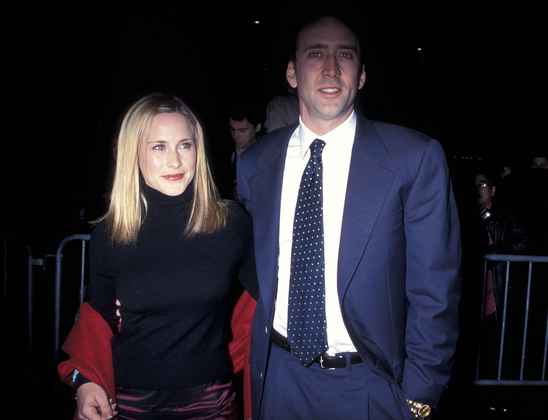 Patricia Arquette y Nicolas Cage