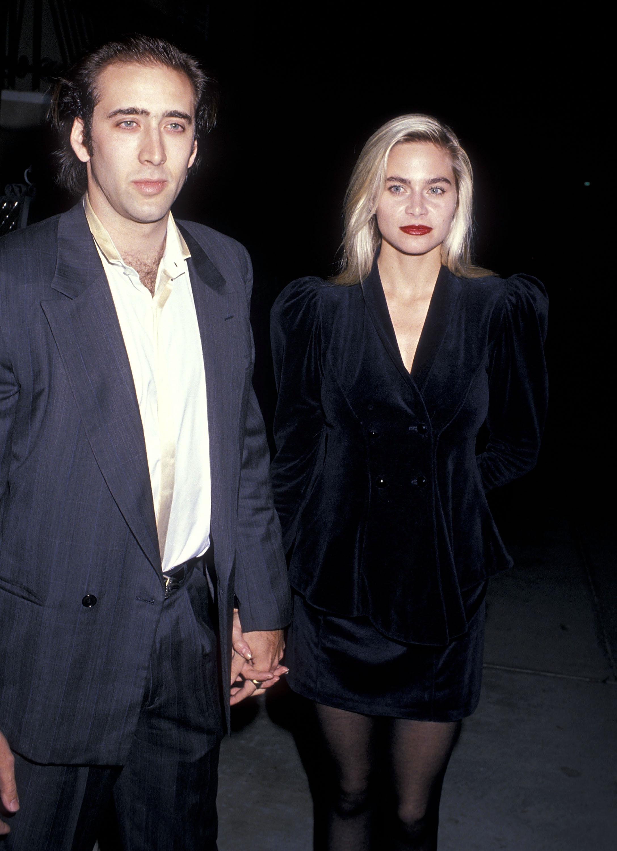 Nicolas Cage y Christina Fulton