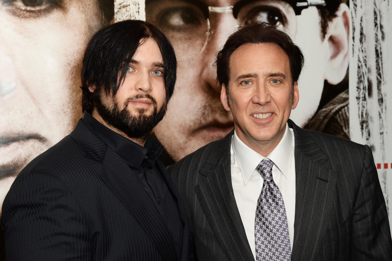 Nicolas Cage y su hijo Weston