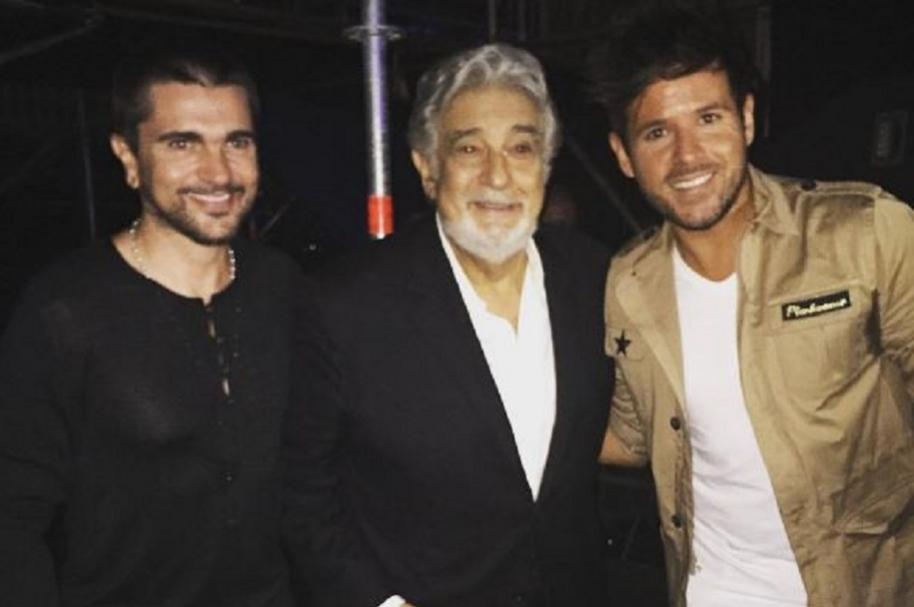 Juanes, Plácido y Pablo