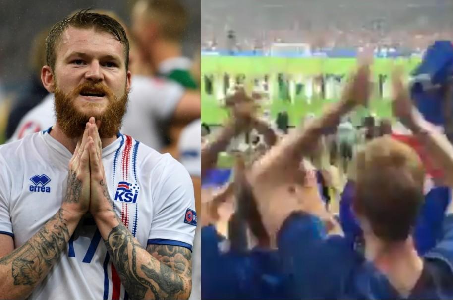 Islandia aplausos