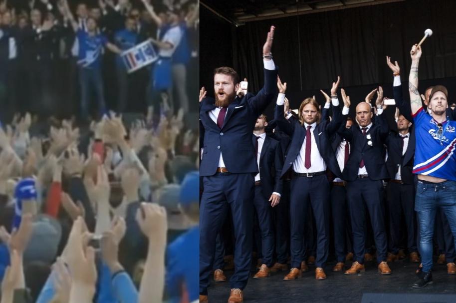 aplauso Islandia