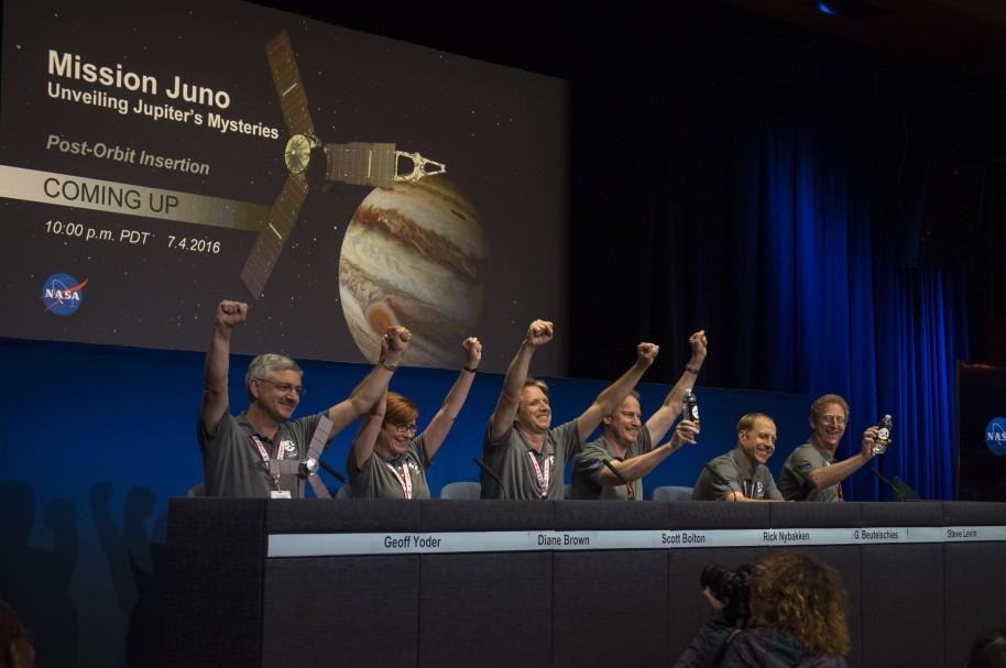 Juno Jupiter Orbit Insertion (JOI)