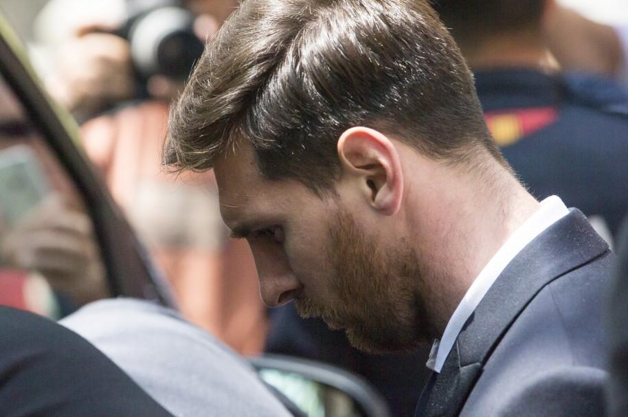 Messi, durante el juicio en su contra celebrado el pasado 2 de junio