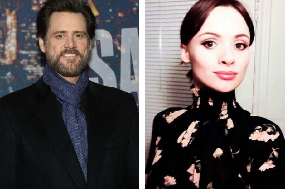 Jim Carrey y Cathriona White pareja