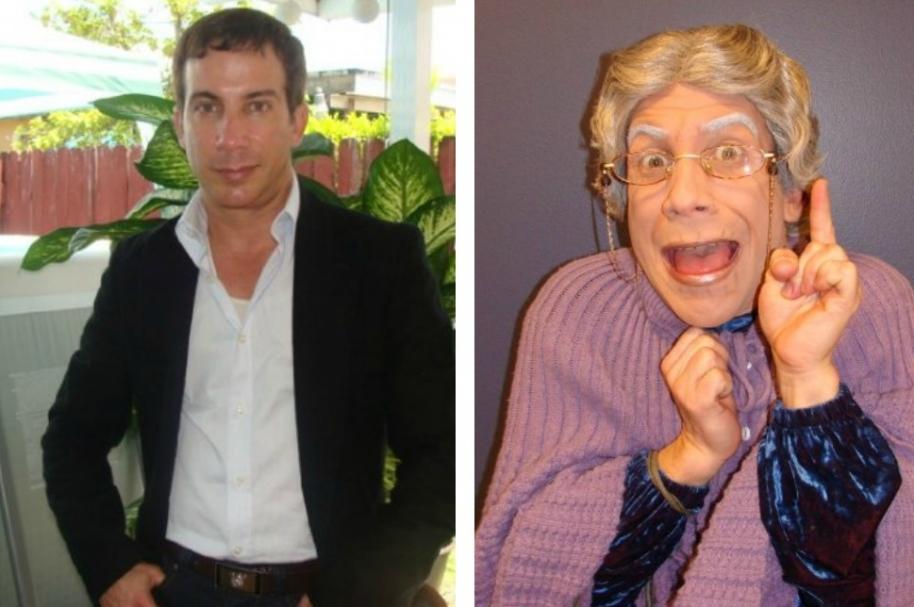 Adonis Losada y Doña Concha