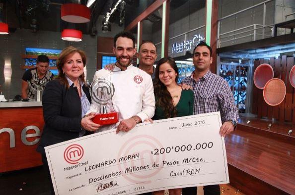 Leonardo ganador MasterChef