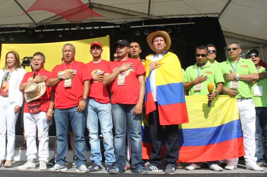 Colombianos en el exterior