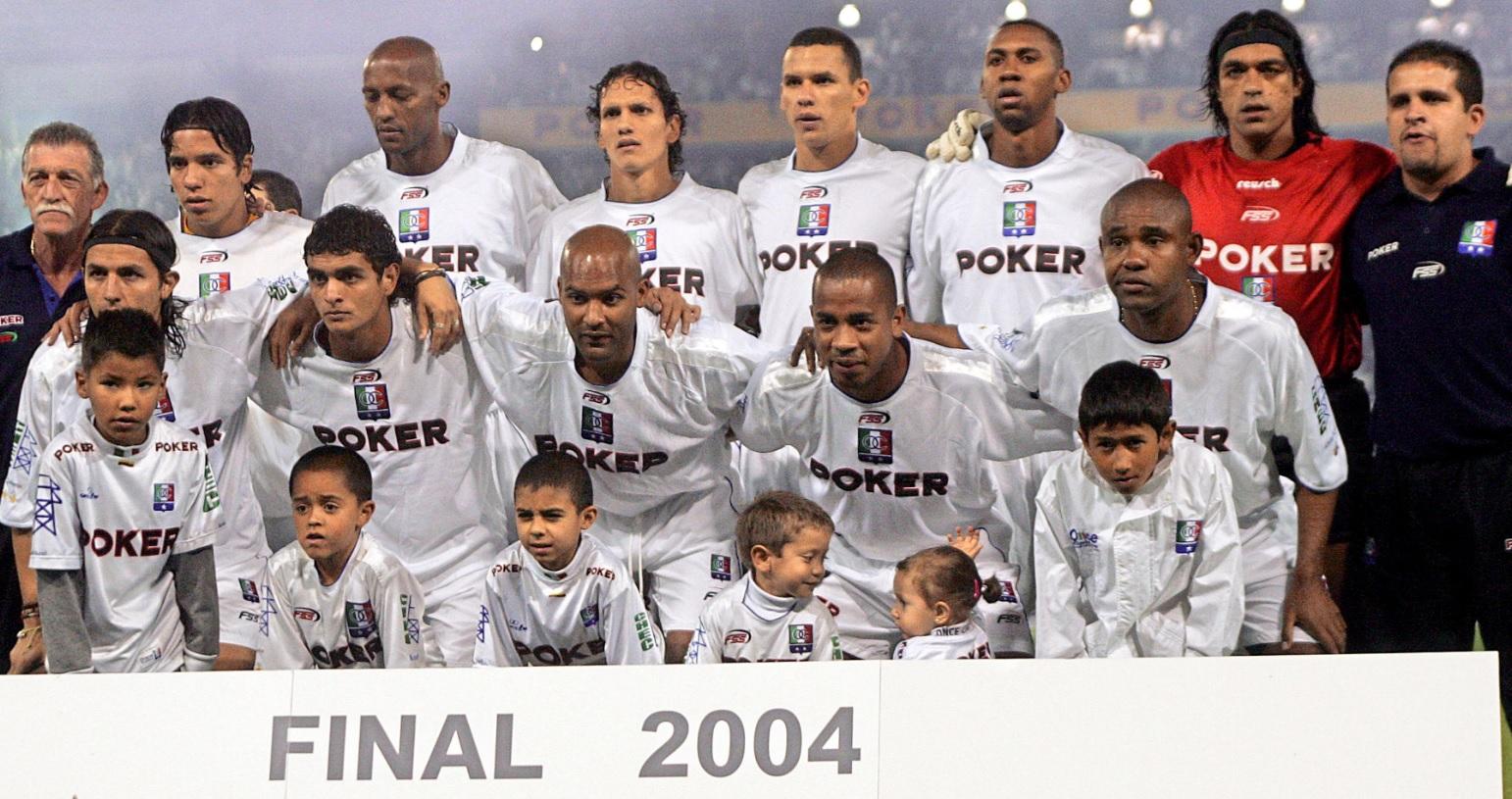 ONCE CALDAS FINAL 2004