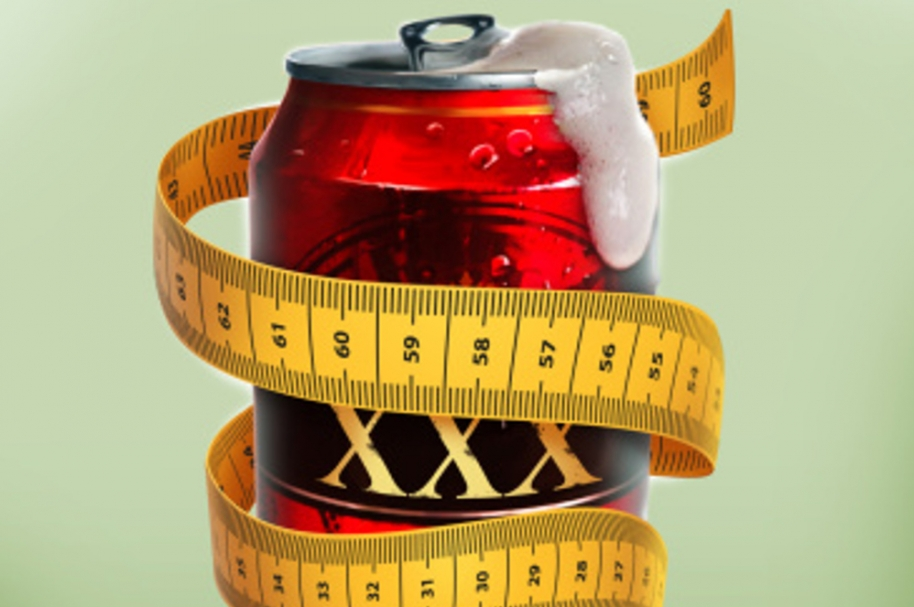 Cerveza y calorías