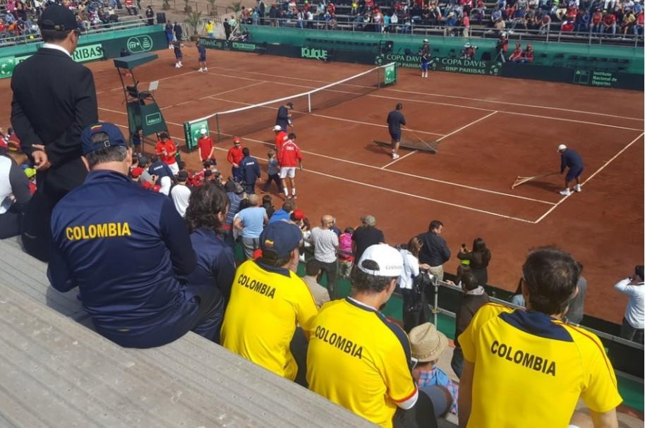 Colombia Chile Copa Davis