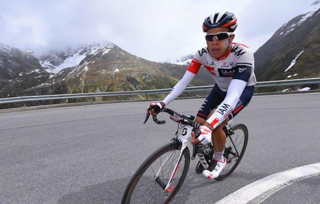 Jarlinson Pantano en los Alpes - Pulzo.com