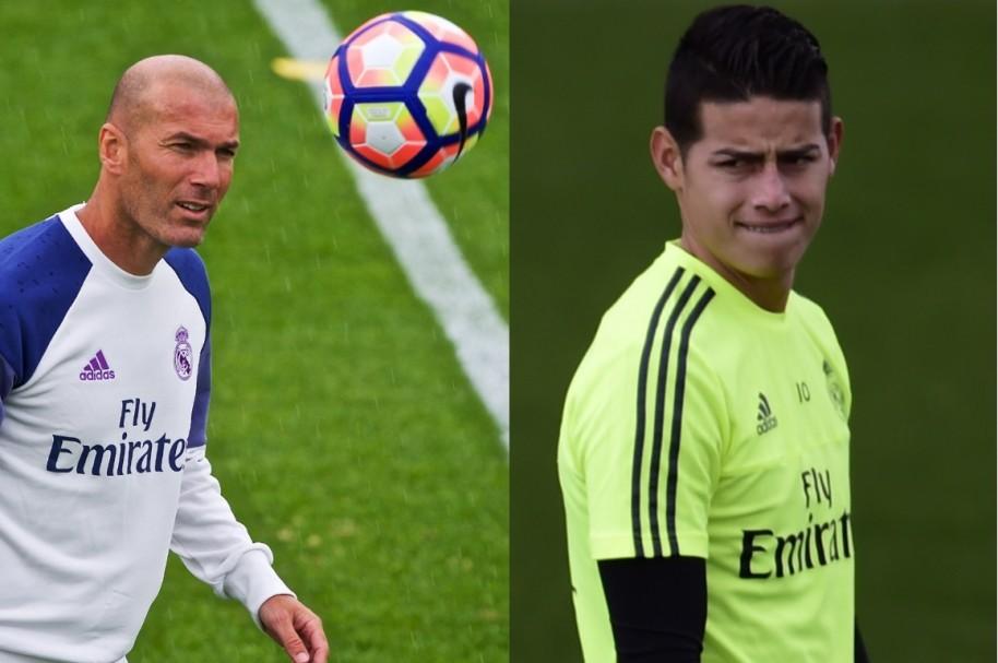 James - Zidane