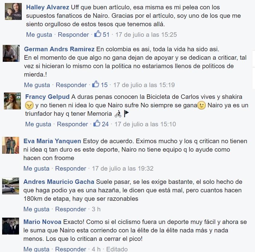 COMENTARIOS SHOCK