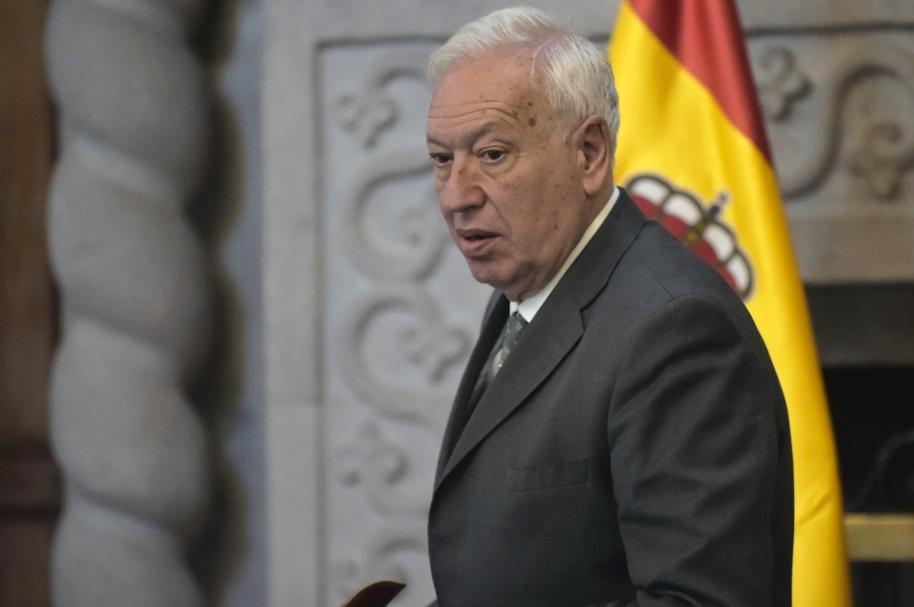 Ministro de Asuntos Exteriores español, José Manuel García-Margallo