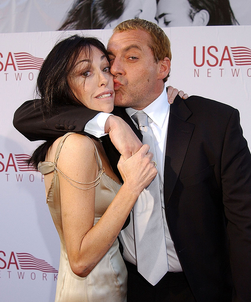 Heidi Fleiss & Tom Sizemore during 30th AFI Life Achievement Award - A Tribute to Tom Hanks at Kodak Theatre in Hollywood, California, United States. (Photo by Gregg DeGuire/WireImage)