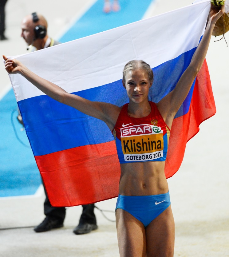 Klishina 10 Getty