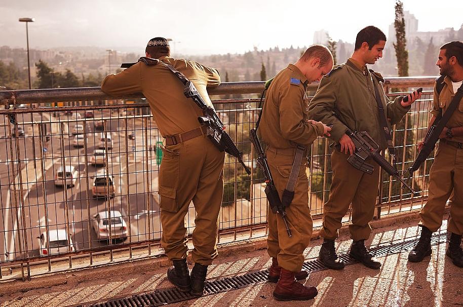 Soldados del ejército de Israel.