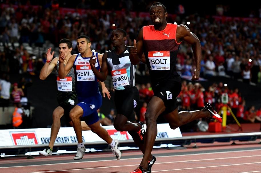 Bolt 200 metros