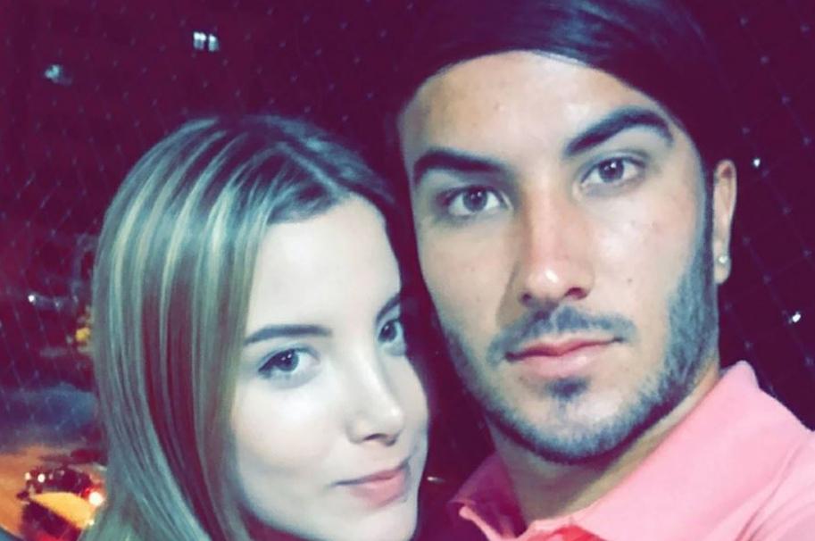 Sebastián Pérez junto a su esposa Manuela Restrepo