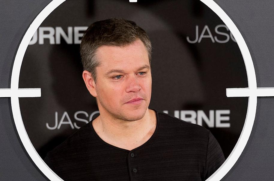 Matt Damon como 'Jason Bourne'